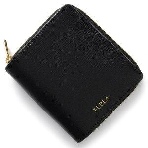 フルラ FURLA 二つ折財布 クラシック CLASSIC S ブラック PP99 B30 O60 レディース
