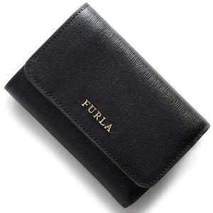 フルラ FURLA 三つ折財布 バビロン BABYLON ブラック PR76 B30 O60 2018年春夏新作 レディース