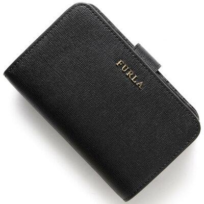 フルラ FURLA 二つ折り財布 バビロン BABYLON ブラック PR85 B30 O60 レディース