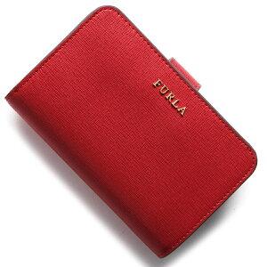 フルラ FURLA 二つ折財布 バビロン BABYLON ルビーレッド PR85 B30 RUB レディース