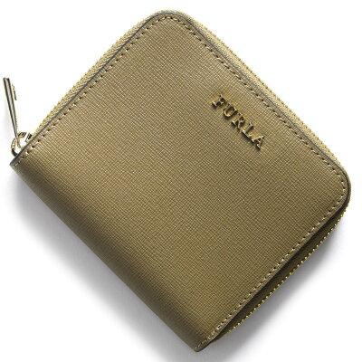 フルラ FURLA 二つ折り財布 バビロン BABYLON カーキ PR84 B30 KAY レディース