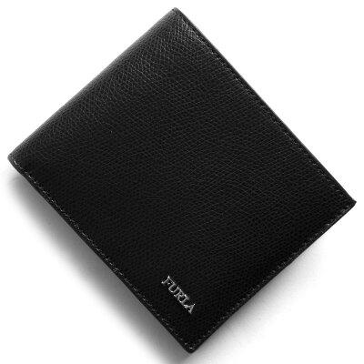 フルラ FURLA 二つ折財布 マルテ MARTE ブラック PT00 ATT O60 メンズ