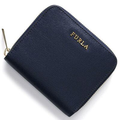 フルラ FURLA 二つ折り財布 バビロン BABYLON ネイビー PR84 B30 DRS レディース