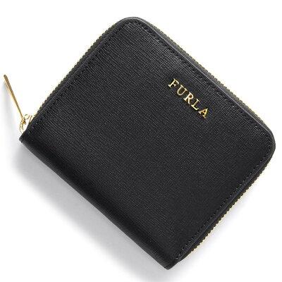フルラ FURLA 二つ折り財布 バビロン BABYLON ブラック PR84 B30 O60 レディース