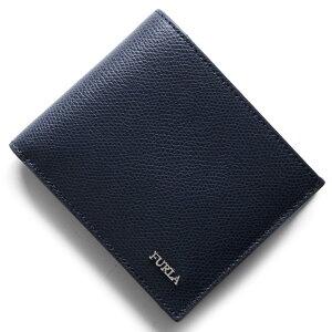 フルラ FURLA 二つ折財布 マルテ MARTE ネイビー PT00 ATT NT6 メンズ