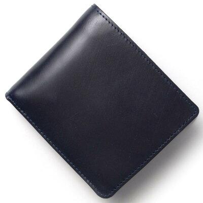 グレンロイヤル GLENROYAL 二つ折財布 ダーク ブルー 034128 DARKBLUE メンズ