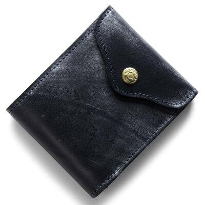 グレンロイヤル GLENROYAL 三つ折財布 ダークブルー 035956 DARKBLUE メンズ