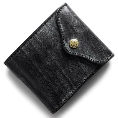 グレンロイヤル GLENROYAL 三つ折財布 ニューブラック 035956 NEWBLACK メンズ