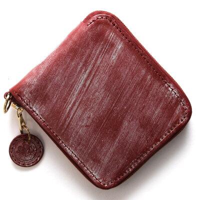 グレンロイヤル GLENROYAL 二つ折財布 ラウンドタグ ROUND TAG ブルゴーニュレッド 036156 BURGUNDY メンズ レディース