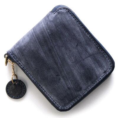 グレンロイヤル GLENROYAL 二つ折財布 ラウンドタグ ROUND TAG ダークブルー 036156 DARKBLUE メンズ