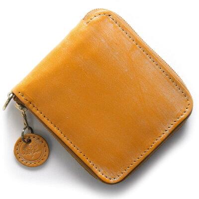 グレンロイヤル GLENROYAL 二つ折財布 ラウンドタグ ROUND TAG ゴールドイエロー 036156 GOLD メンズ レディース