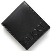グッチ GUCCI 二つ折財布 グッチ XL ブラック 428765 CWLWN 1000 メンズ レディース