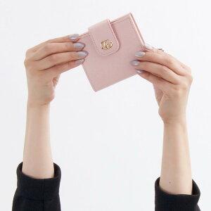 グッチ 二つ折り財布 財布 レディース プチマーモント ライトピンク 523193 CAO0G 5909 2018年秋冬新作 GUCCI