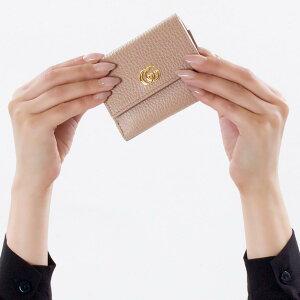 グッチ 三つ折り財布/ミニ財布 財布 レディース プチマーモント ポーセリンローズベージュ 524672 CAO0G 5729 GUCCI