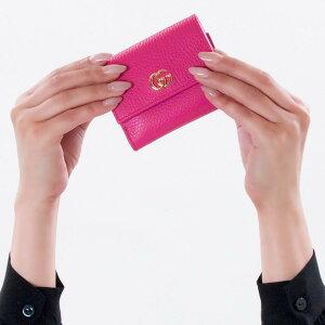 グッチ 三つ折り財布/ミニ財布 財布 レディース プチマーモント ボックスピンク 524672 CAO0G 5752 GUCCI
