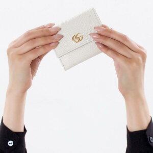 グッチ 三つ折り財布/ミニ財布 財布 レディース プチマーモント オフホワイト 524672 CAO0G 9022 GUCCI