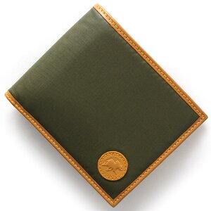 ハンティングワールド HUNTING WORLD 二つ折財布【札入れ】 バチュー オリジン BATTUE ORIGIN グリーン 320 10A メンズ