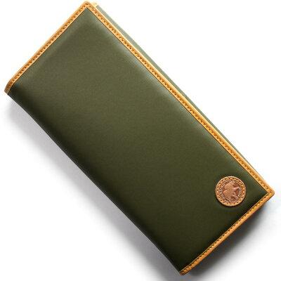 ハンティングワールド HUNTING WORLD 長財布 バチュー オリジン BATTUE ORIGIN グリーン&ビンテージナチュラル 420 10A メンズ