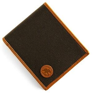 ハンティングワールド HUNTING WORLD 二つ折財布 アドゥービ ADOBE ダークブラウン&オレンジ 674 435 メンズ