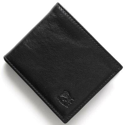 イルビゾンテ IL BISONTE 二つ折財布 スタンダード STANDARD ブラック C0487 MP 153 メンズ