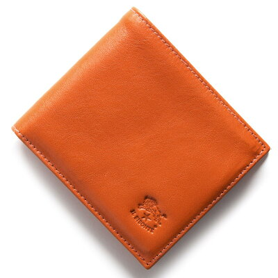 イルビゾンテ IL BISONTE 二つ折財布 スタンダード STANDARD オレンジ C0487 MP 166 メンズ