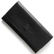 イルビゾンテ IL BISONTE 長財布 スタンダード STANDARD ブラック C0775 P 153 メンズ レディース