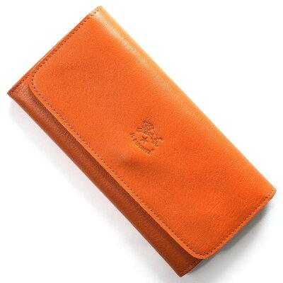 イルビゾンテ IL BISONTE 長財布 スタンダード STANDARD オレンジ C0775 P 166 メンズ レディース