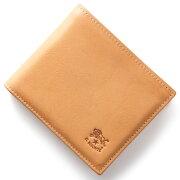 イルビゾンテ IL BISONTE 二つ折財布 スタンダード STANDARD ナチュラル C0817 P 120 メンズ レディース