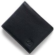 イルビゾンテ IL BISONTE 二つ折財布 スタンダード STANDARD ダークブルー C0817 P 137 メンズ レディース