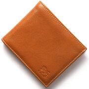 イルビゾンテ IL BISONTE 二つ折財布 スタンダード 【STANDARD】 キャメルブラウン C0817 P 145 メンズ レディース