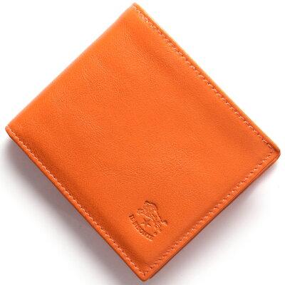 イルビゾンテ 二つ折り財布 財布 メンズ レディース スタンダード STANDARD オレンジ C0817 P 166 IL BISONTE