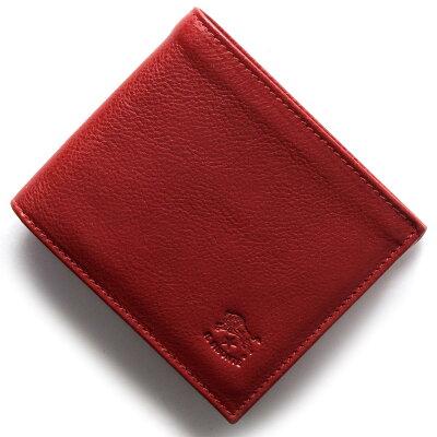 イルビゾンテ IL BISONTE 二つ折り財布 スタンダード STANDARD ロッソレッド C0817 P 245 メンズ レディース