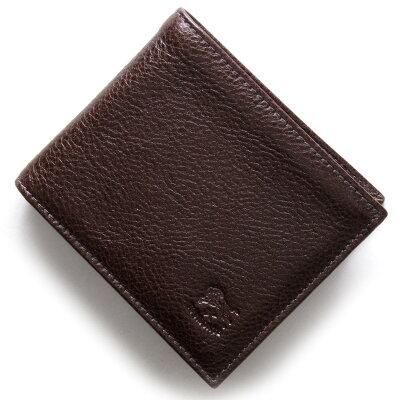 イルビゾンテ IL BISONTE 二つ折財布 スタンダード STANDARD モカブラウン C0817 P 455 メンズ レディース
