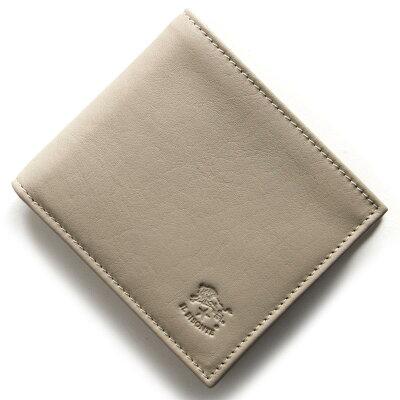 イルビゾンテ IL BISONTE 二つ折財布 スタンダード STANDARD トープグレージュ C0817 P 810 メンズ