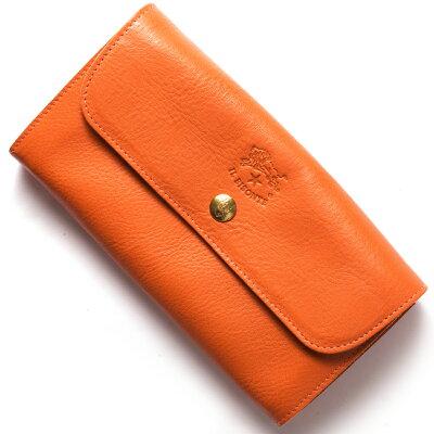 イルビゾンテ 長財布 財布 メンズ レディース スタンダード STANDARD オレンジ C0842 P 166 IL BISONTE