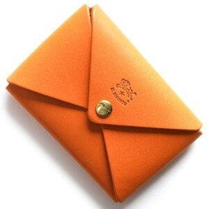イルビゾンテ IL BISONTE コインケース【小銭入れ】 スタンダード STANDARD オレンジ C0854 P 166 メンズ レディース