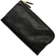 イルビゾンテ IL BISONTE 長財布 ブラック C0862 P 153 メンズ レディース