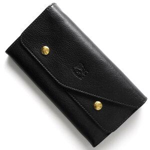 イルビゾンテ IL BISONTE 長財布 ブラック C0881 P 153 メンズ レディース