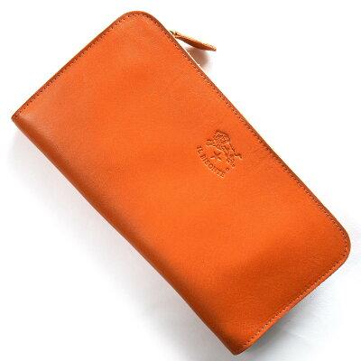 イルビゾンテ IL BISONTE 長財布 スタンダード STANDARD オレンジ C0909 P 166 メンズ レディース