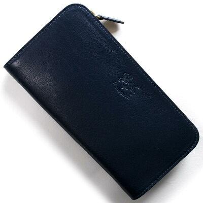 イルビゾンテ IL BISONTE 長財布 スタンダード STANDARD ブルー C0909 P 866 メンズ レディース