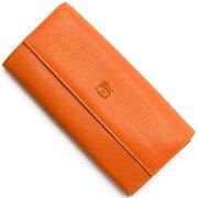 イルビゾンテ IL BISONTE 長財布 オレンジ C0918 P 166 メンズ レディース