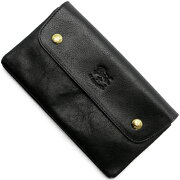 イルビゾンテ IL BISONTE 長財布 ブラック C0937 P 153 メンズ レディース