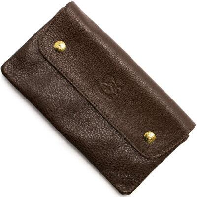 イルビゾンテ IL BISONTE 長財布 モカブラウン C0937 P 455 メンズ レディース