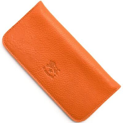 イルビゾンテ IL BISONTE 長財布 オレンジ C0938 P 166 メンズ レディース