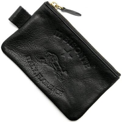 イルビゾンテ コインケース【小銭入れ】 財布 メンズ レディース ブラック C0942 P 153 IL BISONTE
