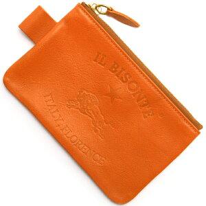 イルビゾンテ IL BISONTE コインケース【小銭入れ】 オレンジ C0942 P 166 メンズ レディース
