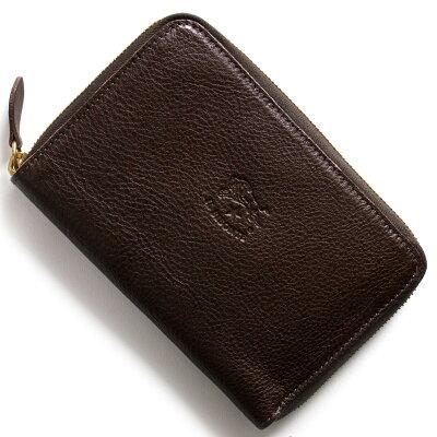 イルビゾンテ IL BISONTE 二つ折財布 スタンダード STANDARD モカブラウン C0944 P 455 メンズ レディース