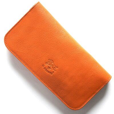 イルビゾンテ IL BISONTE 長財布 スタンダード STANDARD オレンジ C0985 P 166 メンズ レディース