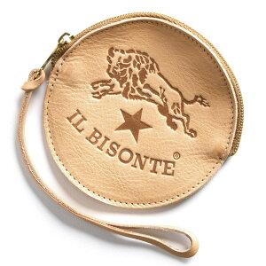 イルビゾンテ IL BISONTE コインケース【小銭入れ】 スタンダード STANDARD ナチュラル C1012 P 120 メンズ レディース