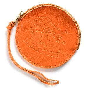 イルビゾンテ IL BISONTE コインケース【小銭入れ】 スタンダード STANDARD オレンジ C1012 P 166 メンズ レディース